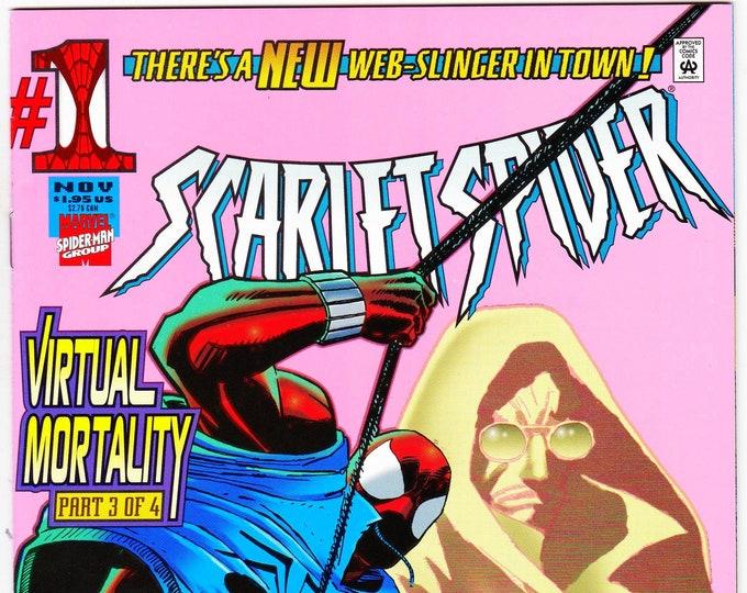 Scarlet Spider #1D    November 1995    Marvel Comics    Grade NM