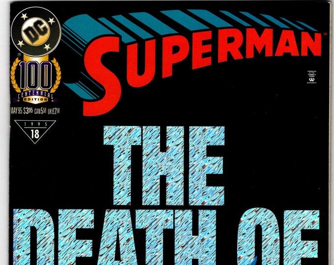 Superman #100D (2nd Series 1987) May 1995   DC Comics  Grade VF/NM