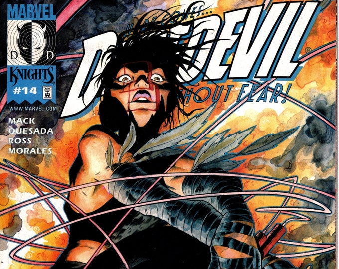 Daredevil #14 June March 2001 Marvel Comics  Grade VF