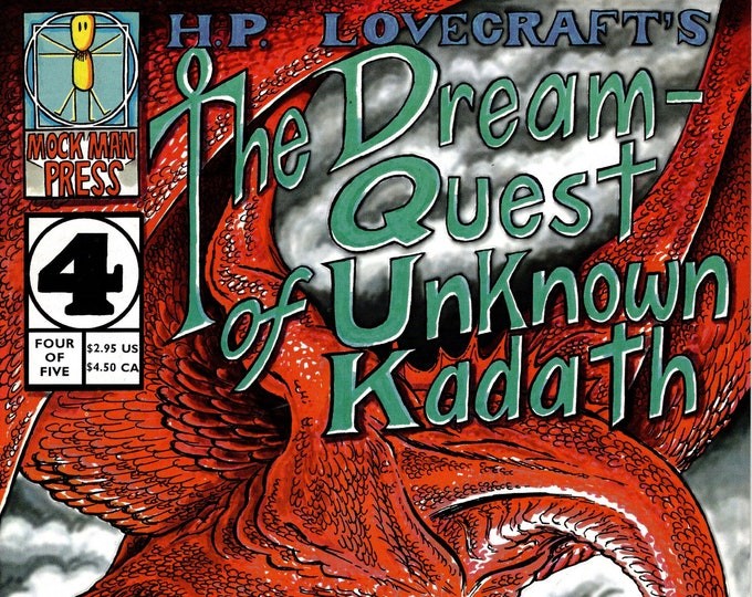 H.P. Lovecraft's The Dream-Quest of Unknown Kadath #4  1997   Mock Man Press   Grade VF