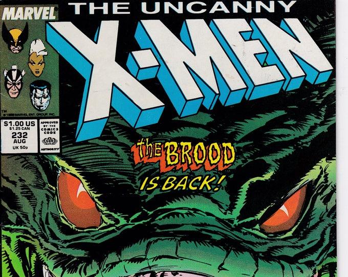 Uncanny X-Men #232   August 1988  Marvel Comics  Grade F/VF
