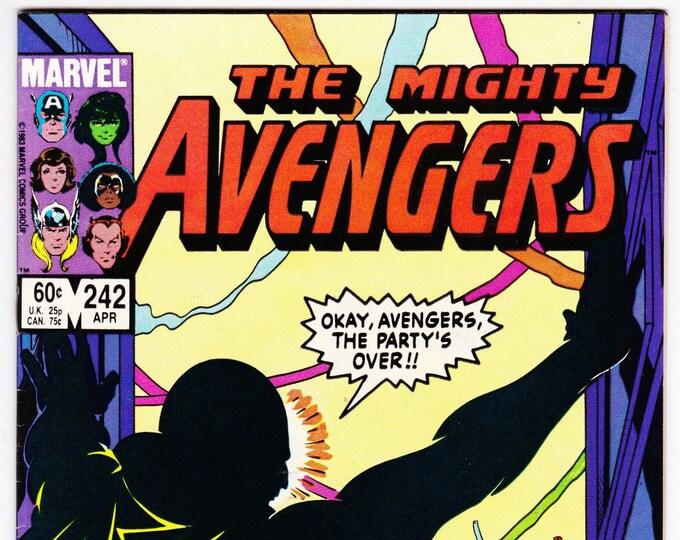 Avengers #242 (1st Series 1963) April 1984  Marvel Comics  Grade NM
