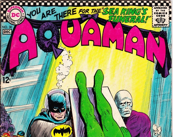 Aquaman #30 (1st Series 1962) December 1966  DC Comics  Grade Fine+