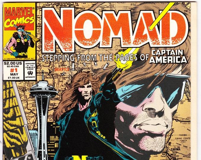 Nomad #1 (1992) May 1992   Marvel Comics  Grade VF