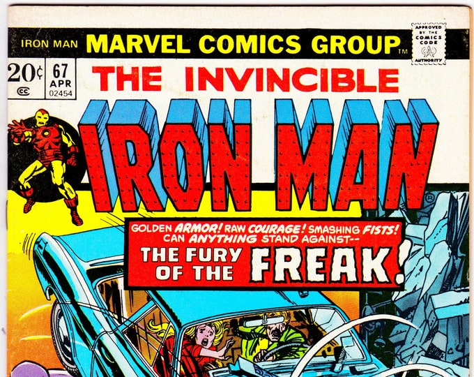 Iron Man #67 (1st Series 1968) April 1974   Marvel Comics  Grade F/VF