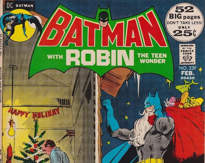 Batman #239 (1st Series 1940) February 1972    DC Comics    Grade VF