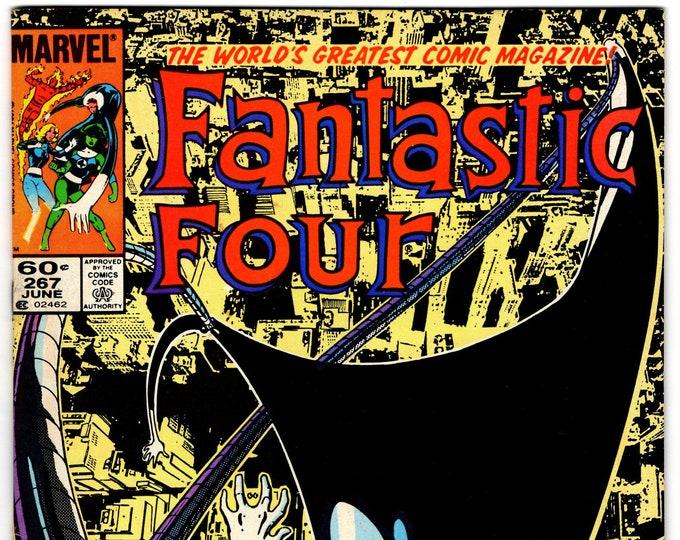 Fantastic Four #267 (1st Series 1961) June 1984  Marvel Comics  Grade VF