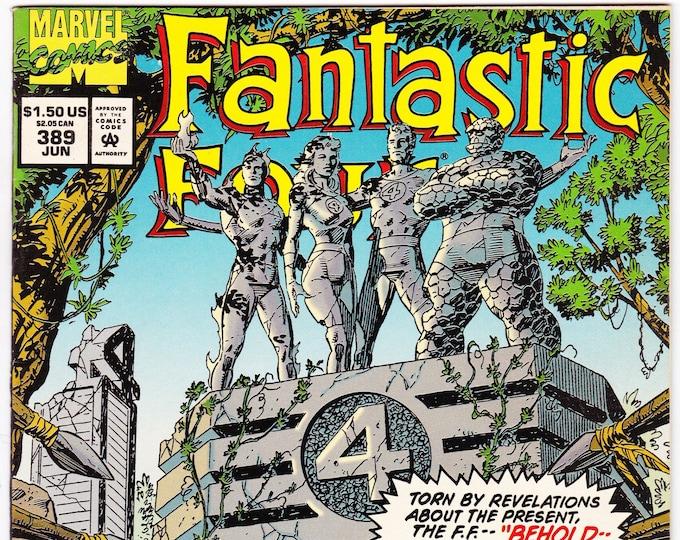 Fantastic Four #389   July 1994   Marvel Comics   Grade NM