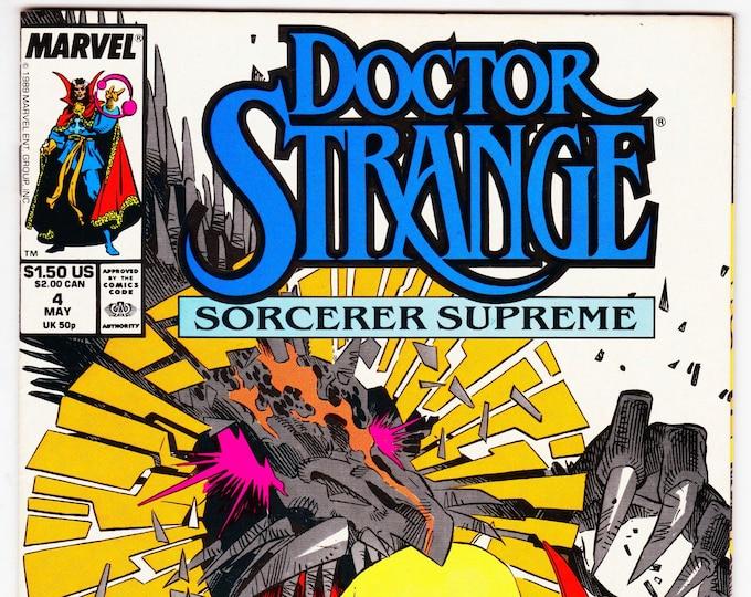 Doctor Strange #4 (3rd Series 1988) May 1989   Marvel  Grade VF