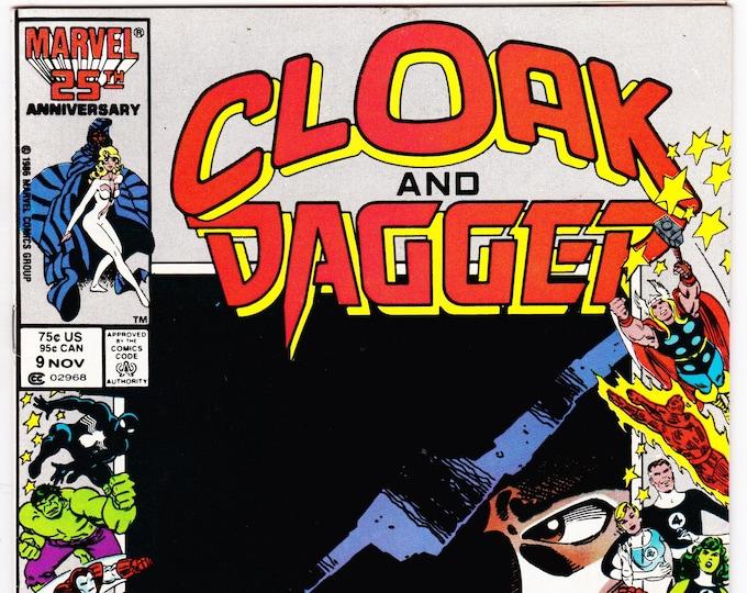 Cloak and Dagger #9 (1985 2nd Series) November 1986    Marvel Grade NM