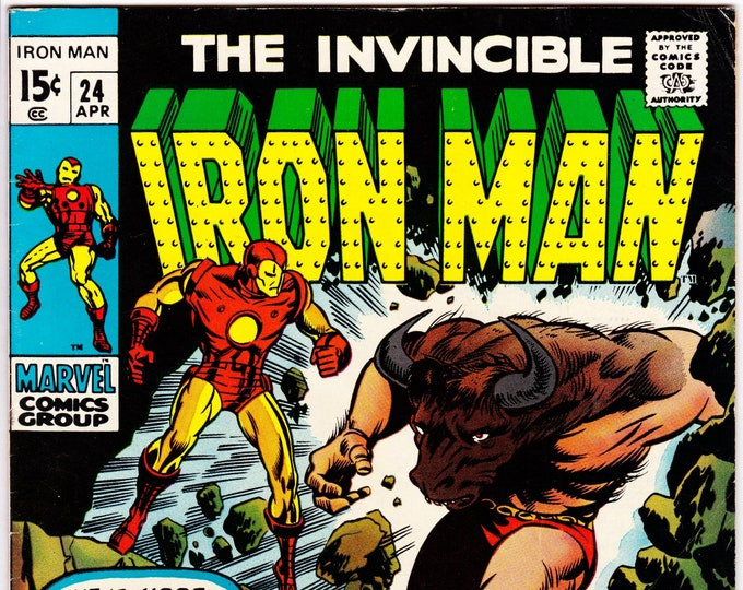 Iron Man #24 (1st Series 1968) April 1970  Marvel Comics  Grade VF-