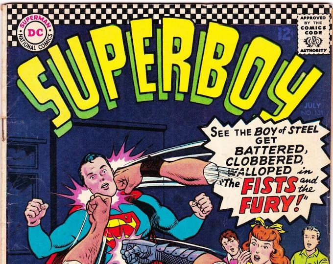 Superboy #131   July 1966    DC Comics   Grade Fine