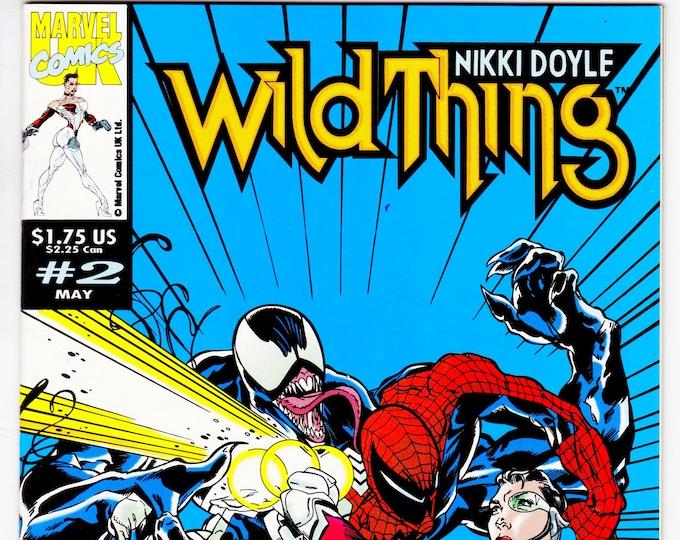 Wildthing #2 (1993 Marvel UK) April  1993  Marvel Comics  Grade NM