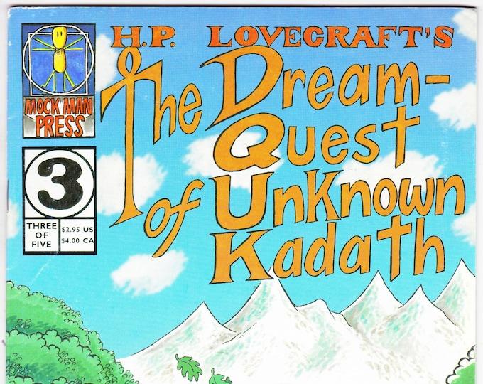H.P. Lovecraft's The Dream-Quest of Unknown Kadath #3  1997   Mock Man Press   Grade Fine-