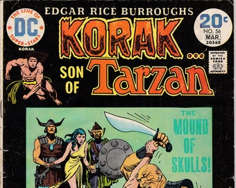 Korak Son Of Tarzan #56 (1964 Series) March 1974 DC Comics  Grade VG