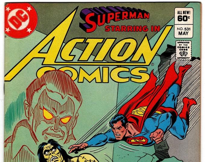 Action Comics #531 (1938 Series) May 1982  DC Comics Grade NM