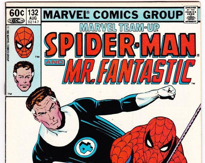 Marvel Team-Up #132 (1st Series 1972) August 1983   Marvel Comics   Grade VF