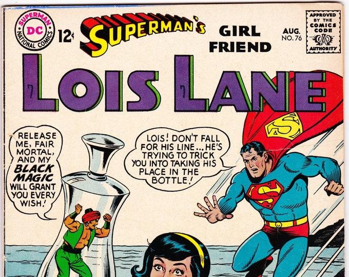 Superman's Girlfriend Lois Lane #76    August 1967     DC Comics     Grade Fine