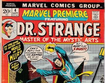 Marvel Premiere #4 - September 1972 - Marvel Comics - Grade Fine