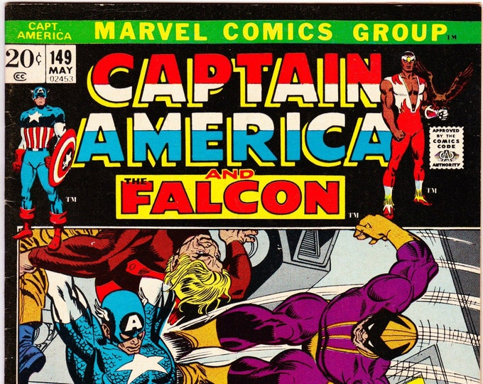 Captain America #149 (1st Series 1968) May 1972    Marvel Comics   Grade F/VF