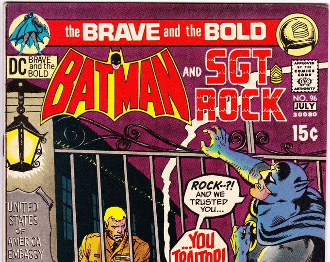 Brave and the Bold #96 (1st Series 1955) July 1971  DC Comics  Grade VF/NM