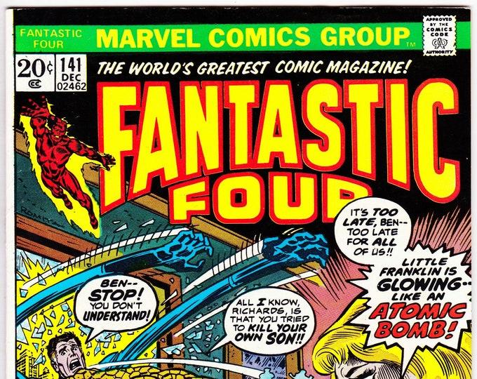 Fantastic Four  #141 (1st Series 1961) December 1973  Marvel Comics  Grade VF