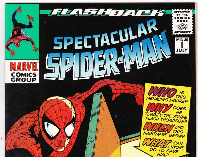 Spectacular Spider Man Flashback #1    July 1997  Marvel Comics   Grade NM