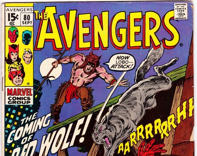 Avengers #80 (1st Series 1963) September 1970  Marvel Comics  Grade F-