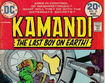 Kamandi The Last Boy On Earth #15 - March 1974 - DC Comics - Grade G/VG