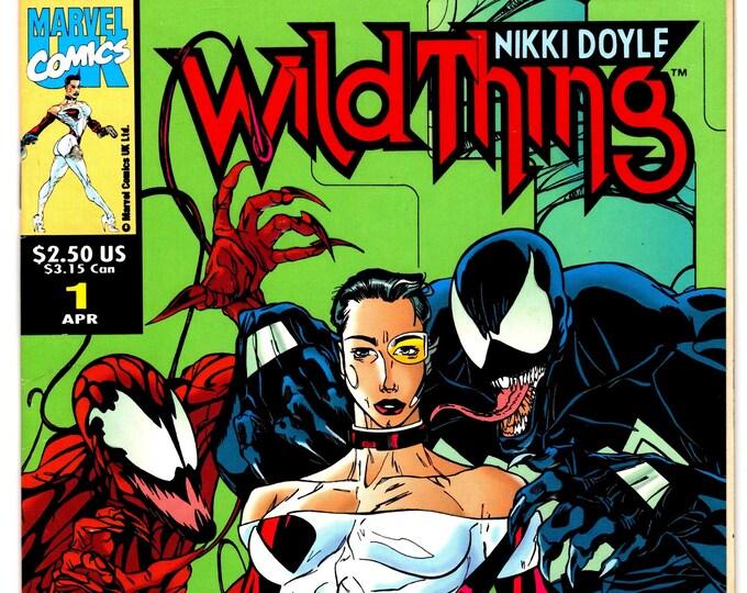 Wildthing #1 (1993 Marvel UK)April  1993  Marvel Comics   Grade NM