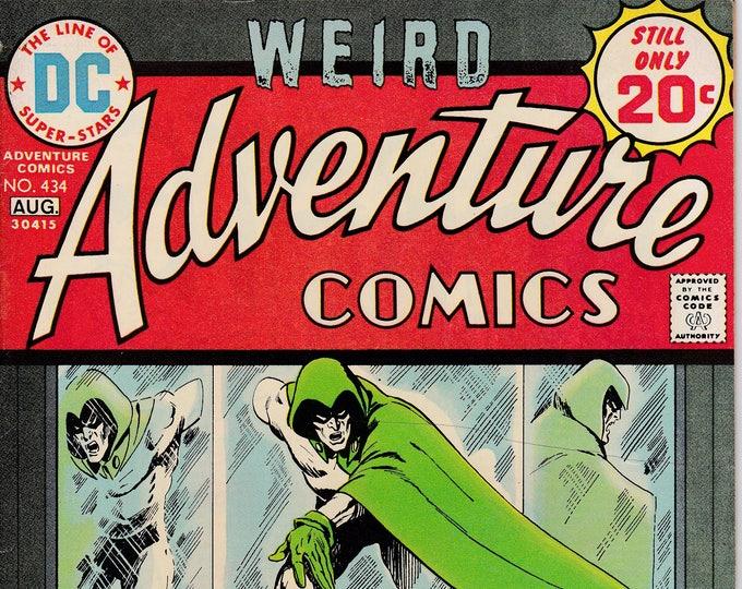 Adventure Comics #434 (1938 1st Series) August 1974  DC Comics  Grade VF/NM