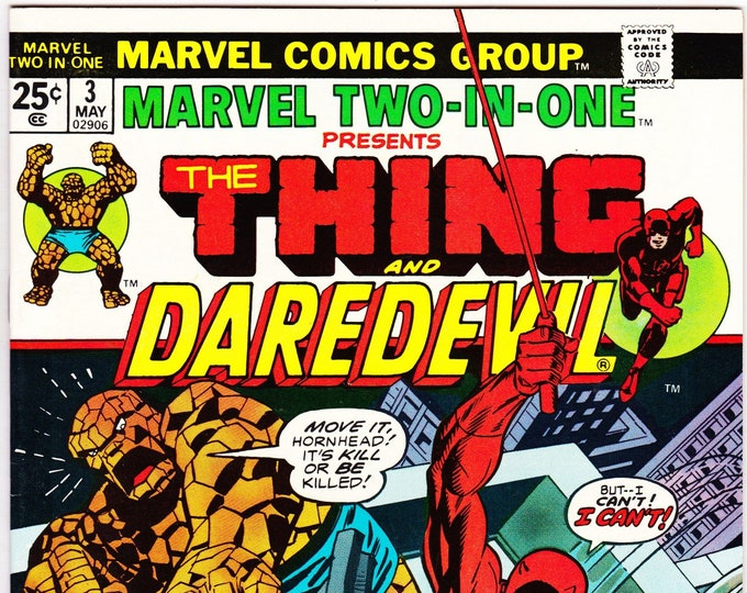 Marvel Two in One #3 (1st Series 1973) May 1974 Marvel Comics   Grade NM
