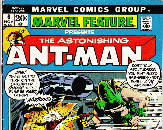 Marvel Feature #6 (1st Series 1971) November 1972    Marvel Comics    Grade F/VF