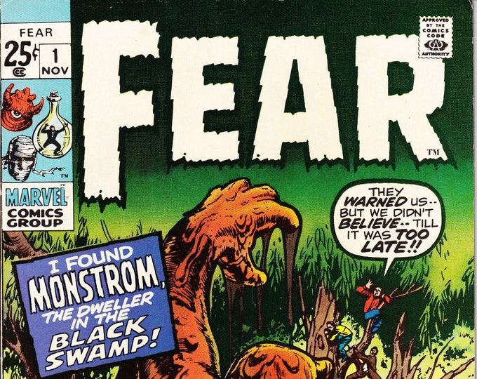 Featured listing image: Fear #1    November 1970    Marvel Comics    Grade NM