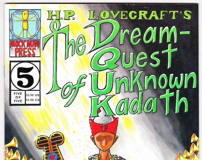 H.P. Lovecraft's The Dream-Quest of Unknown Kadath #5  1997   Mock Man Press   Grade Fine+