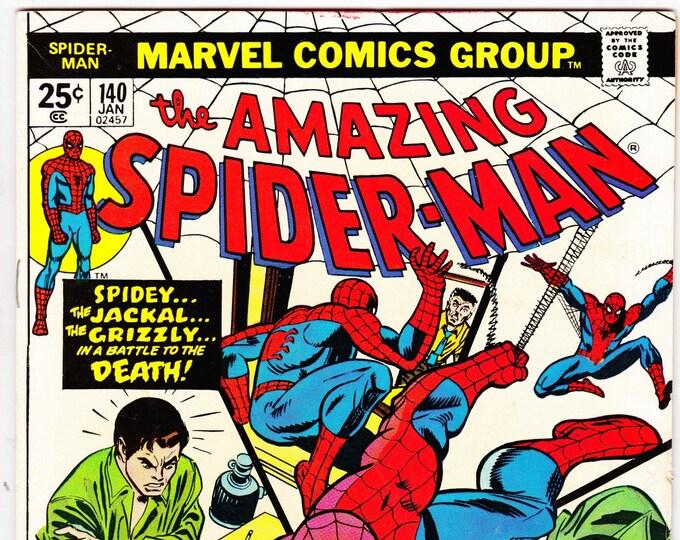 Amazing Spider-Man #140 (1st Series 1963) October 1974  Marvel Comics  Grade F/VF