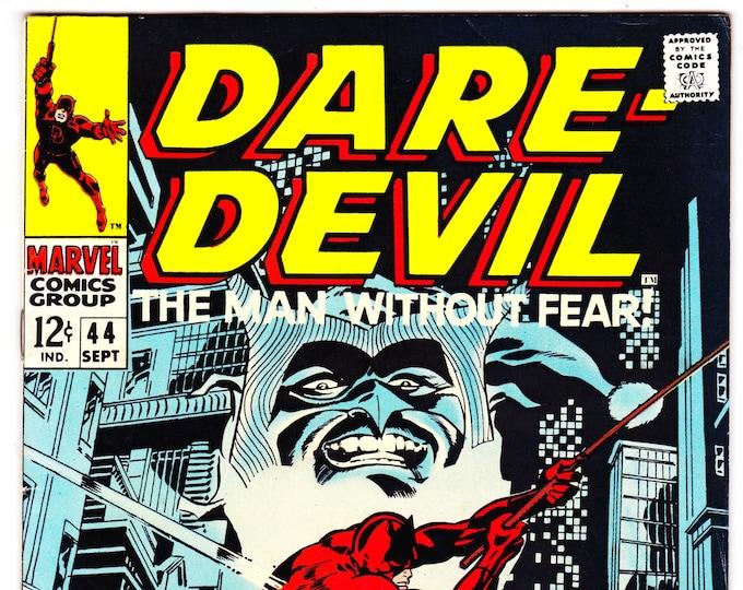 Daredevil #44 (1st Series 1964) Sep 1968   Marvel Comics  Grade VF *Colan/Steranko Cover*