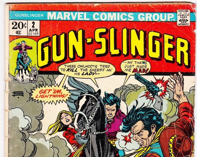 Gun-Slinger #2    April 1973  Marvel Comics   Grade G