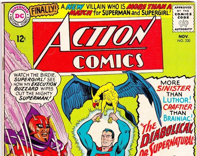 Action Comics #330 (1st Series 1938) November 1965   DC Comics   Grade VF