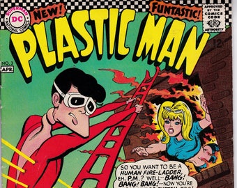 Plastic Man #3 - (1966 1st Series) - May 1967 - DC Comics - Grade Fine/VF