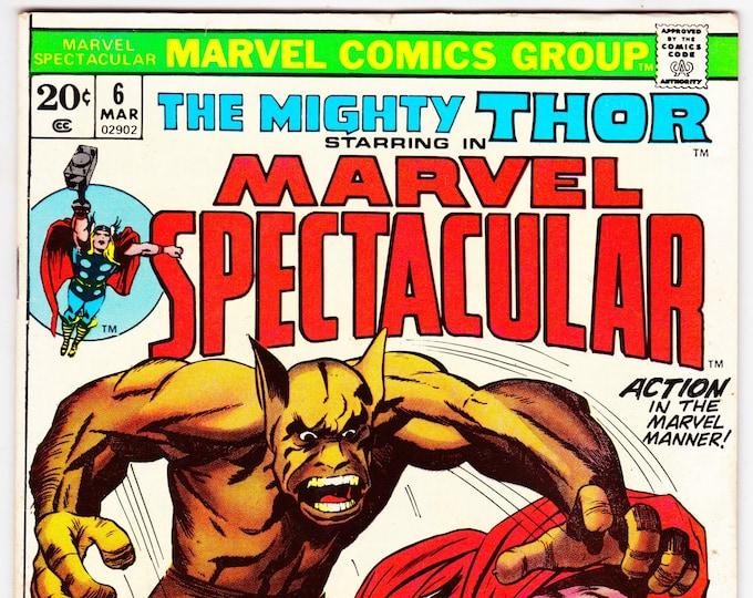 Marvel Spectacular #6 (1973) March 1974   Marvel Comics   Grade VF