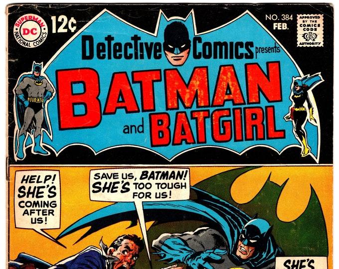Detective Comics #384 (1938 1st Series) February 1969  DC Comics  Grade VG/F