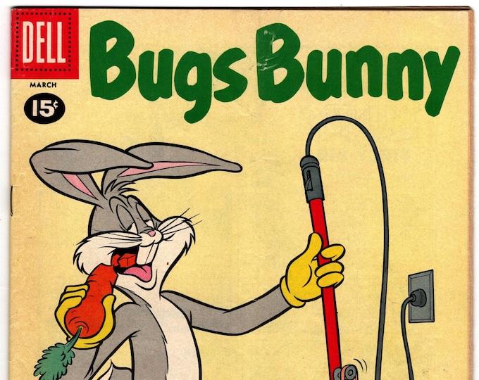 Bugs Bunny #77 (1952-1980 Dell/Gold Key)  March 1961  Dell Comics   Grade F/VF
