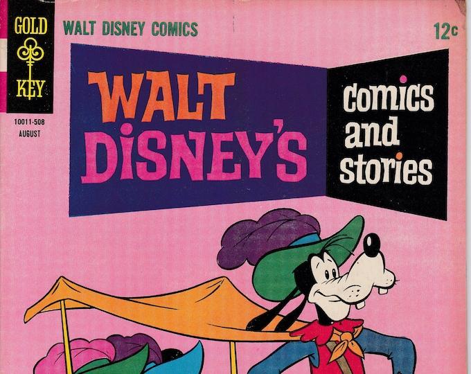Walt Disney's Comics and Stories #299  August 1965  Gold Key Comics Grade VG/F   Feat. Carl Barks Art