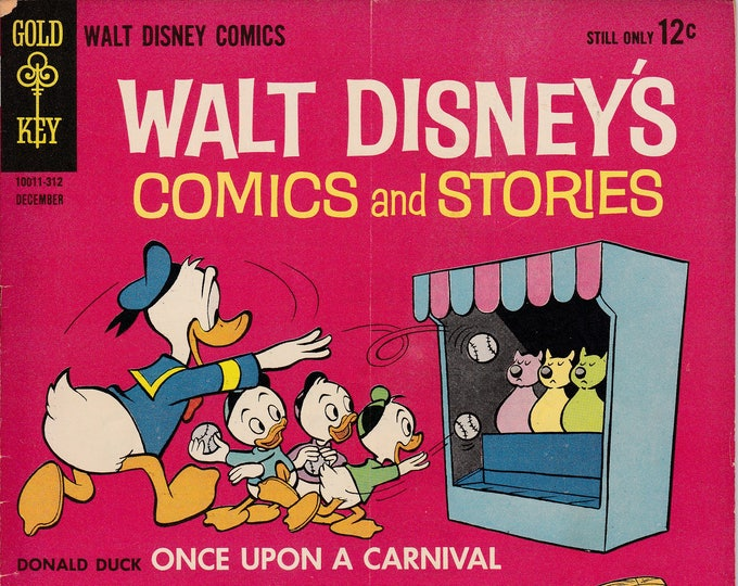 Walt Disney's Comics and Stories #279 December 1963  Dell Comics Grade VG  Feat. Carl Barks Stories and Art