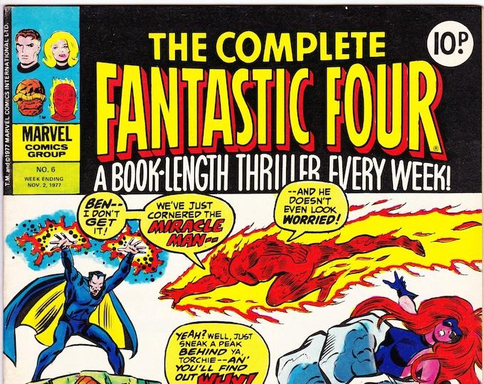 The Complete Fantastic Four #6    November 2, 1977    Marvel UK     Grade VF