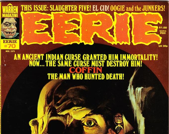 Eerie #70   November 1975     Warren Magazines     Grade NM