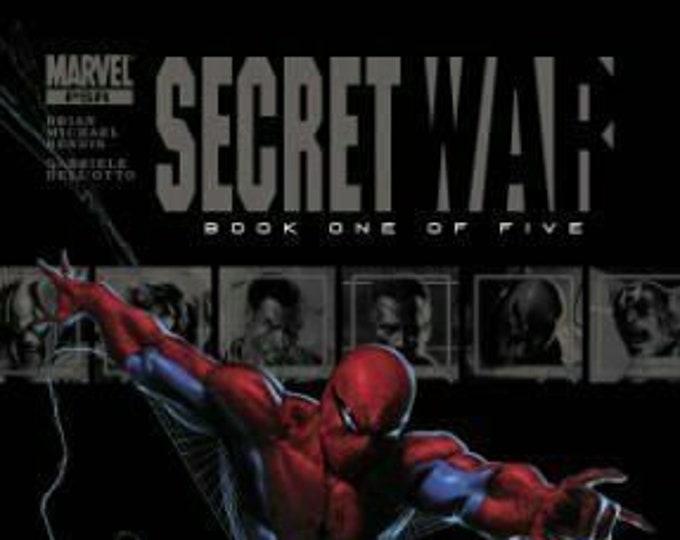 Secret War #1A  April 2004  Marvel Comics  Grade NM