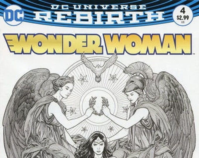 Wonder Woman #4 Frank Cho Variant Cover October Issue    DC Comics  Grade NM