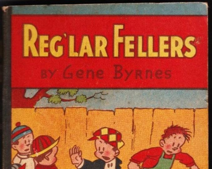 Vintage RARE Reg'lar Fellers  1933  Whitman Publishing Company   First Edition   Softcover Chocomalt Premium